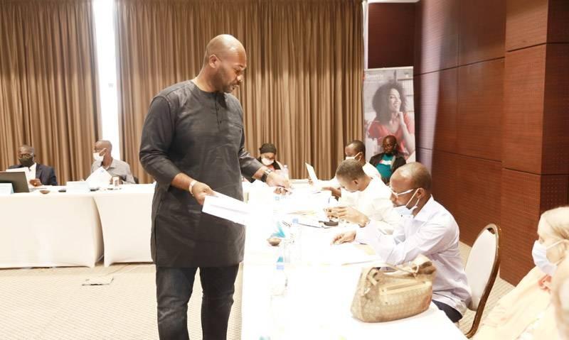 Le formateur Jean-Jacques Bissouma a instruit les auditeurs sur le Lean Six Sigma. (DR)