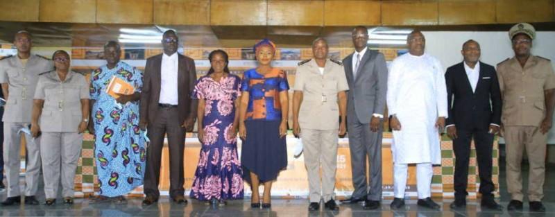 Les Jnce 2021 ont été officiellement lancées en présence des autorités administratives, politiques et coutumières du Sud-Comoé. (Dr)