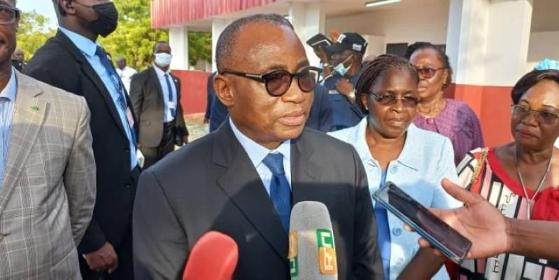 Dr Koffi N'Guessan a relevé des difficultés auxquelles sont confrontés ces établissements scolaires. (Dr)