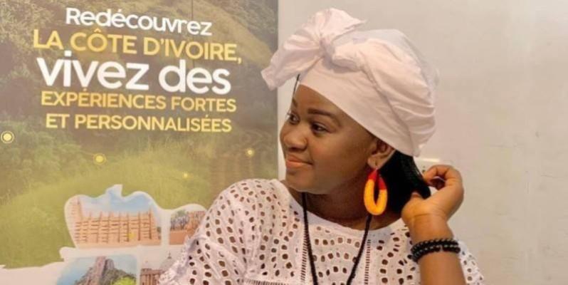 "Maïmouna Coulibaly, promotrice de ""Apéro Tourisme 225"". (Photo : DR)"