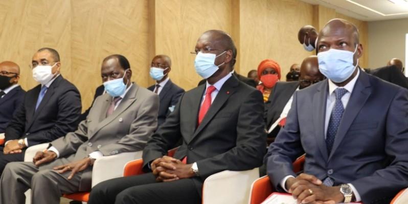 La cérémonie d'ouverture de l'atelier a enregistré la présence des membres du gouvernement. Photo Dr