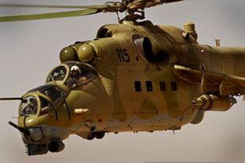 La vue d'un Mi-24. (DR)