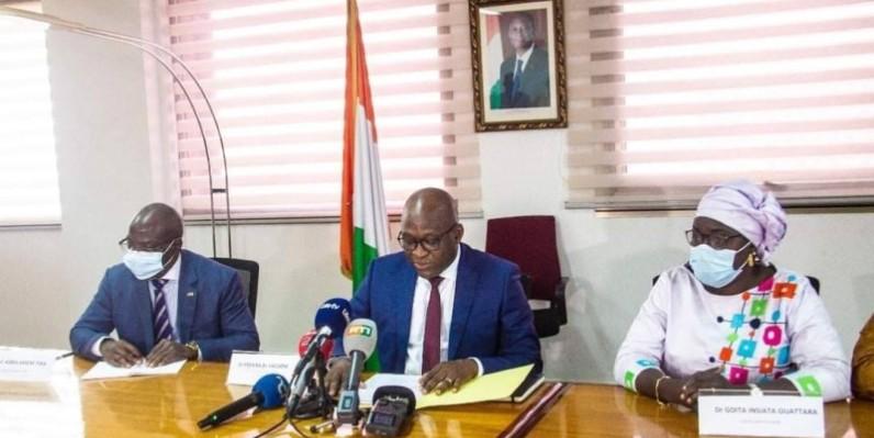 Les résultats ont été proclamés par les collaborateurs du ministre de l'Enseignement supérieur et de la Recherche scientifique, Adama Diawara. (DR)