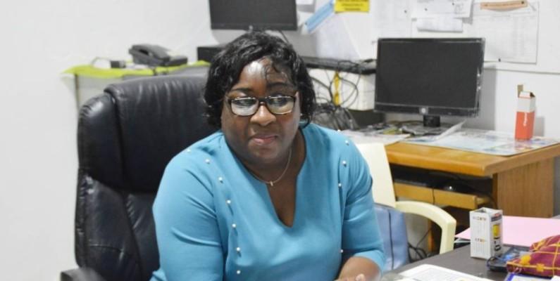 Mme Okou Akaï Madeleine, ex-Principale du Collège moderne du Plateau. (Photo : Julien Monsan)