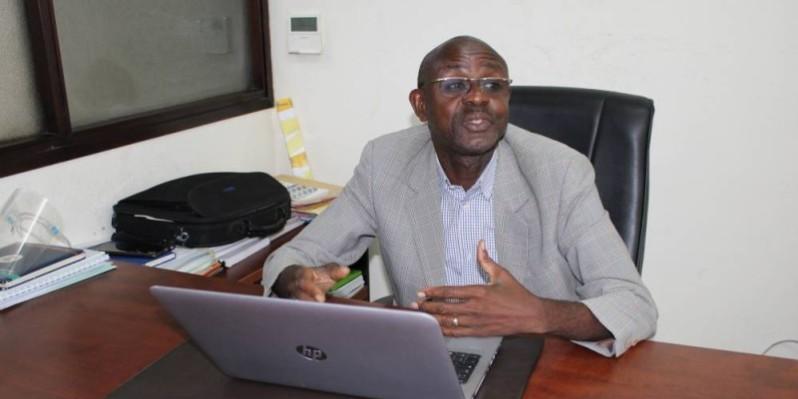 Kouakou Djè Robert, coordonnateur national adjoint des filières café et cacao à l'Anader. (Photo : DR)