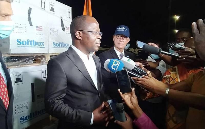 Pierre N'gou Dimba, ministre de la Santé, de l'Hygiène publique et de la Couverture maladie universelle. (DR)