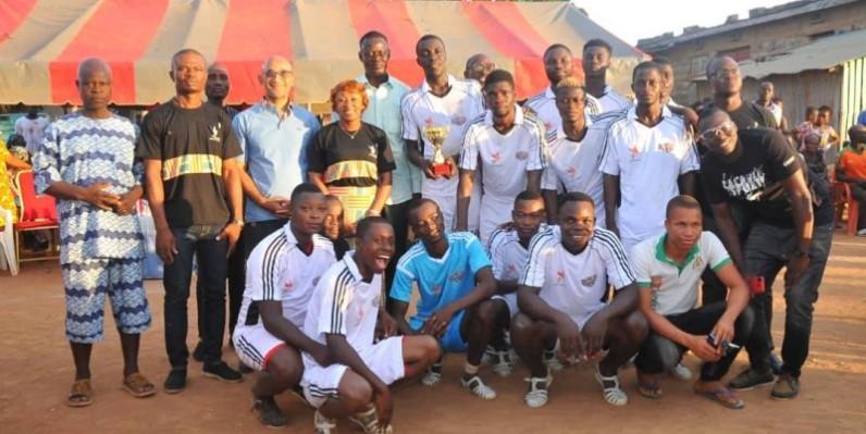 Les Journées de la fraternité se sont achevées par une finale sportive. (Photo : Dve)