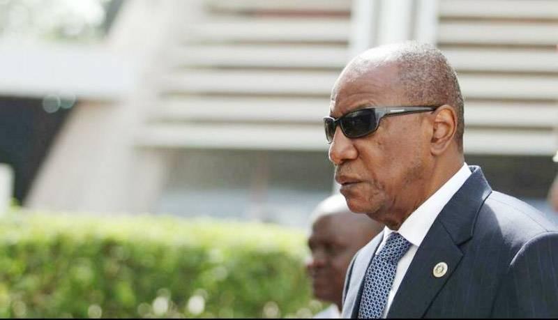 Alpha Condé, le président guinéen évincé par un putsch militaire. (DR)