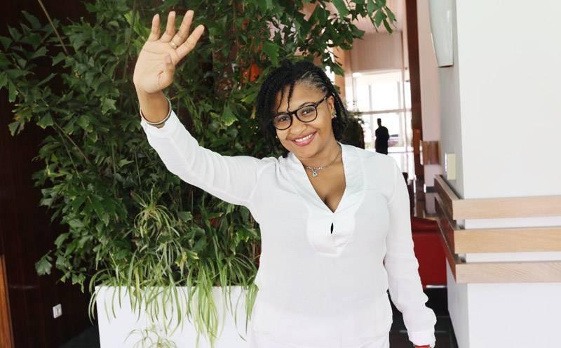 Malika Kamara, la nouvelle présidente élue de l'Alumni exchange program. (Dr)