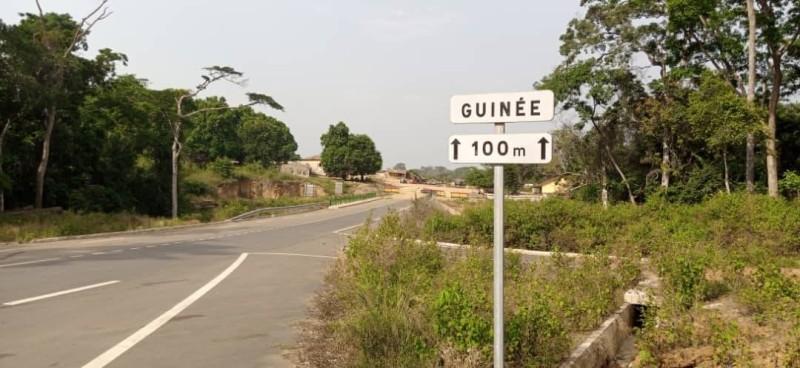 L'axe Danané-frontalière guinéenne est entièrement bitumé. (Photo : Saint-Tra Bi)