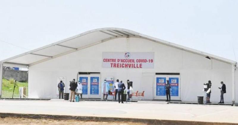 Une vue d'un centre de vaccination. (DR)