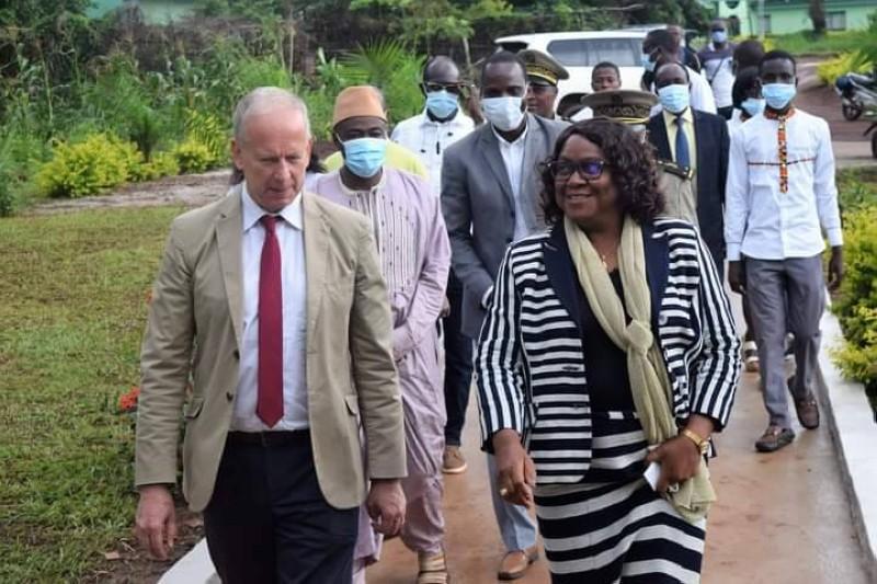 Une visite guidée de l'Université Jean Lorougnon Guédé de Daloa. (DR)