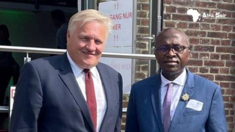 Le député Abel Botchi a exposé les besoins de sa région et aussi ses opportunités aux hommes d'affaires présents.