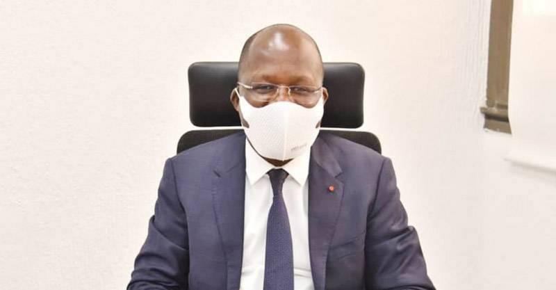 Le ministère de la Santé, de l'Hygiène publique et de la Couverture maladie universelle, Pierre Dimba N'Gou. (DR)