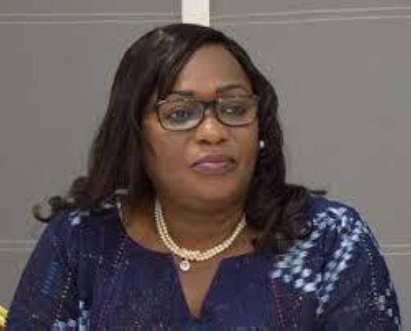 La présidente Namizata Sangaré