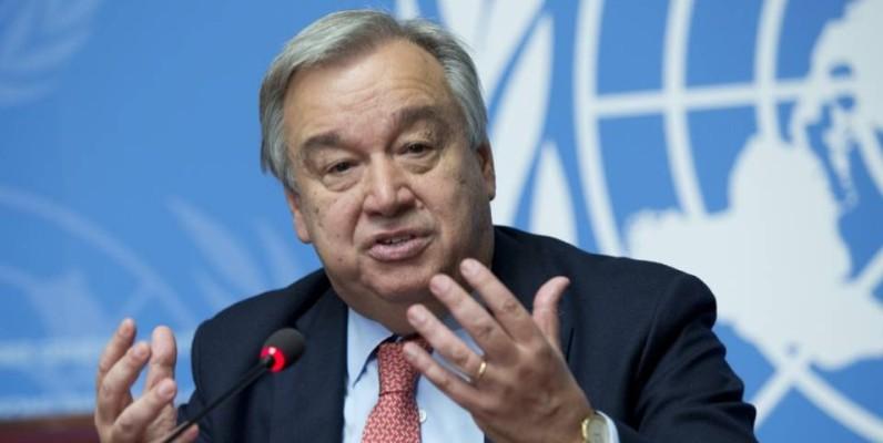 Antonio Guteress, le Secrétaire général de l'Onu, appel le monde entier à s'unir autour de la paix, pour un monde meilleur (Ph: DR)