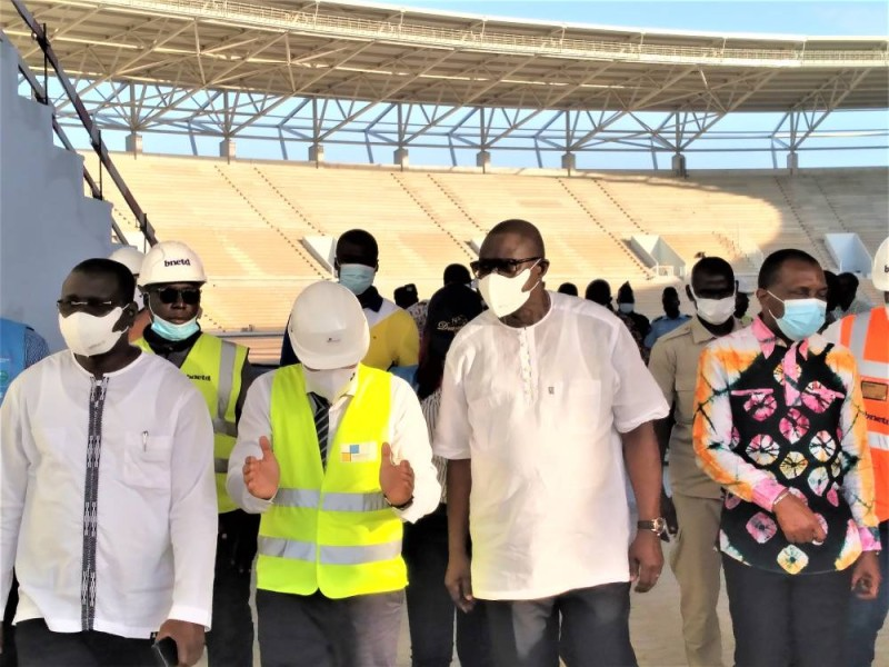 La société portugaise est en train d'abattre un grand travail à Bouaké. (photo : dr)