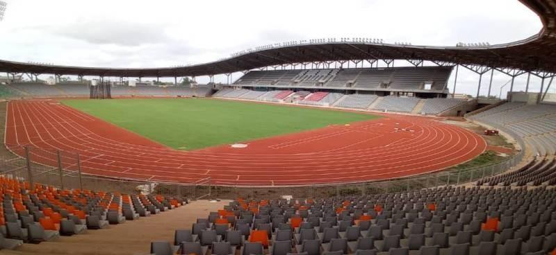 Une vue du stade de Yamoussoukro. (DR)