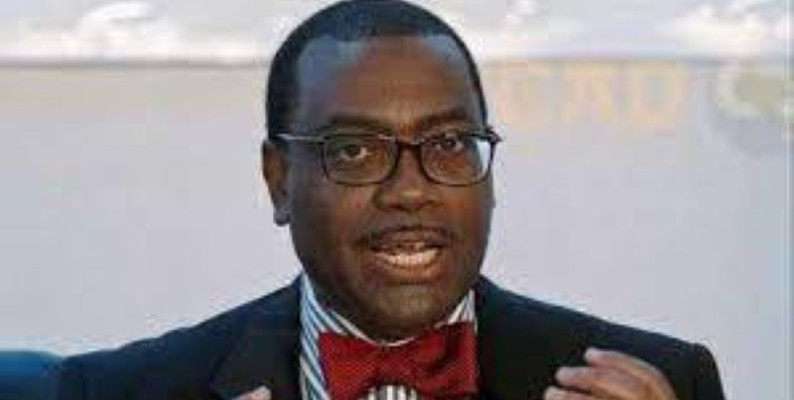Le président de la BAD, Adessina Akinwumi (DR)