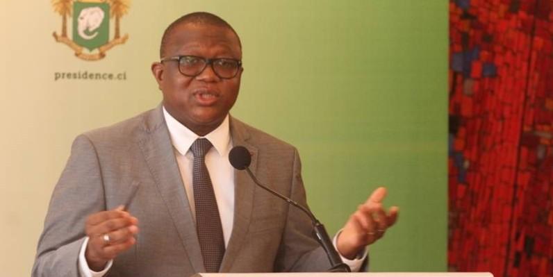 Amadou Coulibaly, porte-parole du gouvernement. (DR)