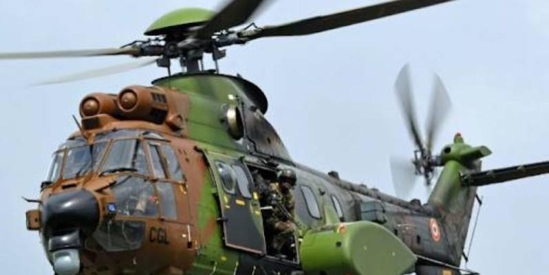 Les recherches ont permis de retrouver les dépouilles des membres de l'équipage constitués de trois instructeurs étrangers et de deux opérateurs ivoiriens. (Dr)