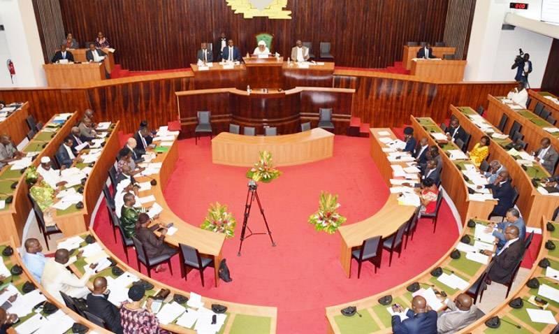 Une vue de l'Assemblée nationale de Côte d'Ivoire. (Photo : DR)