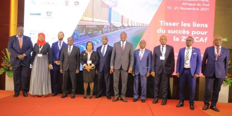 Le ministre du Commerce et de l'Industrie, Souleymane Diarrassouba, a rehaussé de sa présence, la deuxième édition de la Foire commerciale intra-africaine. (DR)