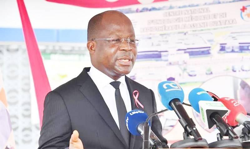 Pierre Dimba N'Gou, ministre de la Santé, de l'Hygiène publique et de la Couverture maladie universelle. (DR)
