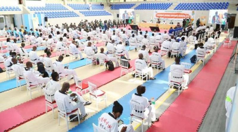 Les Taekwondo-in ivoiriens éliront leur nouveau président le 30 octobre. (DR)