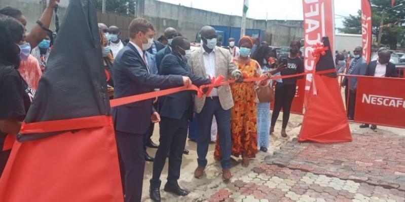 La cérémonie d'inauguration s'est déroulée en marge de la célébration de la Journée nationale du café. (Dr)