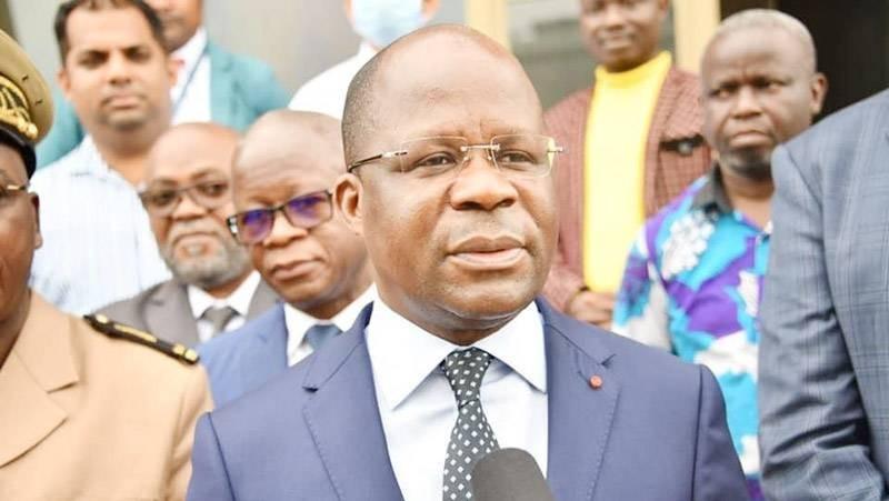Le ministre de la Santé, de l'Hygiène publique et de la Couverture maladie universelle, Pierre N'Gou Dimba. (DR)