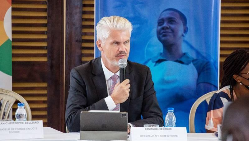 Emmanuel Debroise, directeur de l'AFD Côte d'Ivoire. (Photo : DR)