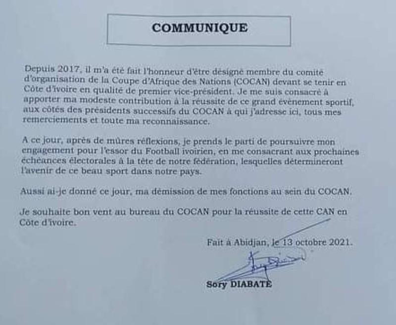 Communiqué-Sory