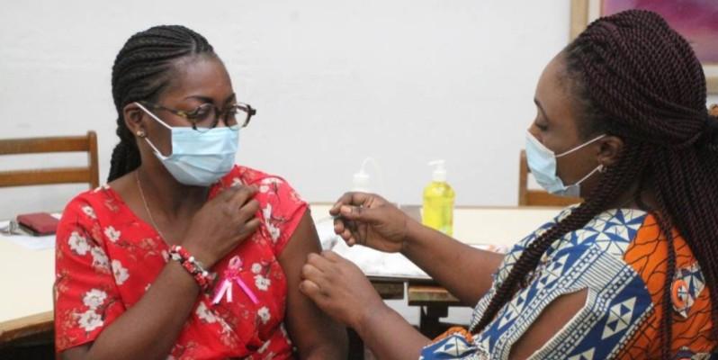 Les agents de Santé étaient dans les locaux de Fraternité Matin. (Véronique Dadié)
