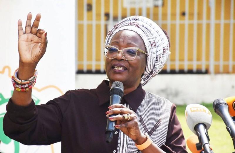 Mme Dao Gabala, président Cn-FIF