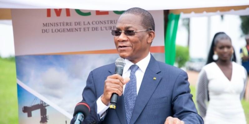 Bruno Nabagné Koné, ministre de la Construction, du Logement et de l'Urbanisme. (DR)
