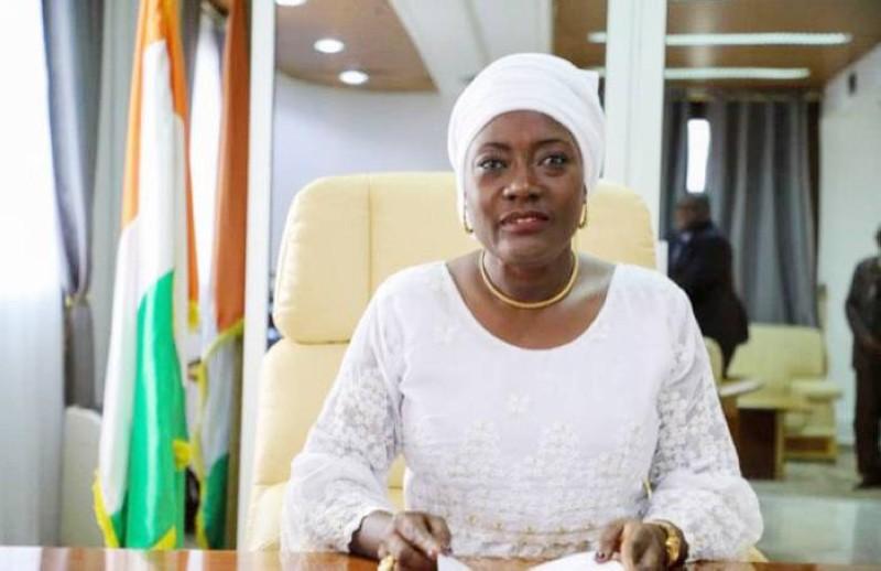 La ministre de l'Education nationale et de l'Alphabétisation, Mariatou Koné. (Photo : DR)