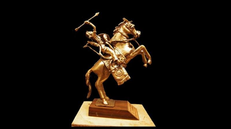 Le  Yennenga d'or, un trophée prestigieux pour le cinéma africain. (photo : dr)