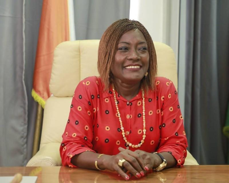 Pr Mariatou Koné, ministre de l'Education nationale et de l'Alphabétisation. (DR)