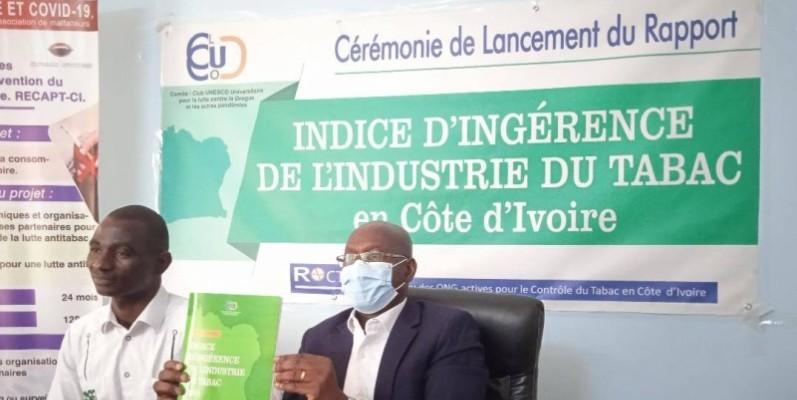 L'Ong Clucod a présenté officiellement l'indice d'ingérence de l'industrie du tabac en Côte d'Ivoire. (DR)