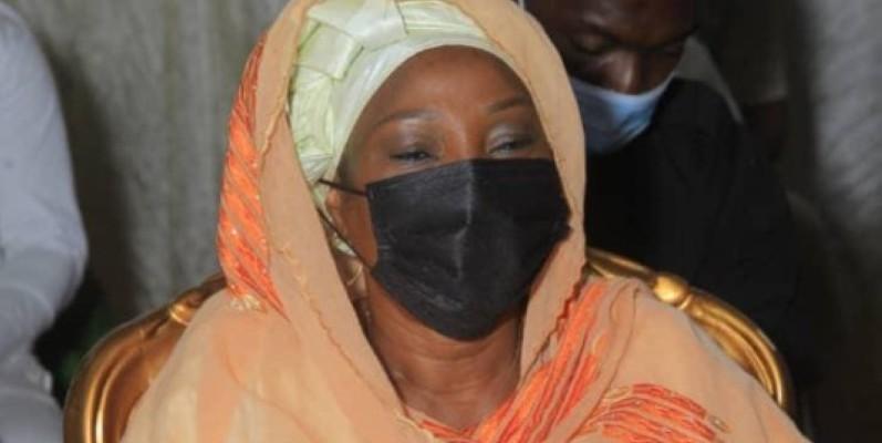 Kandia Camara, maire de la commune d'Abobo. (DR)