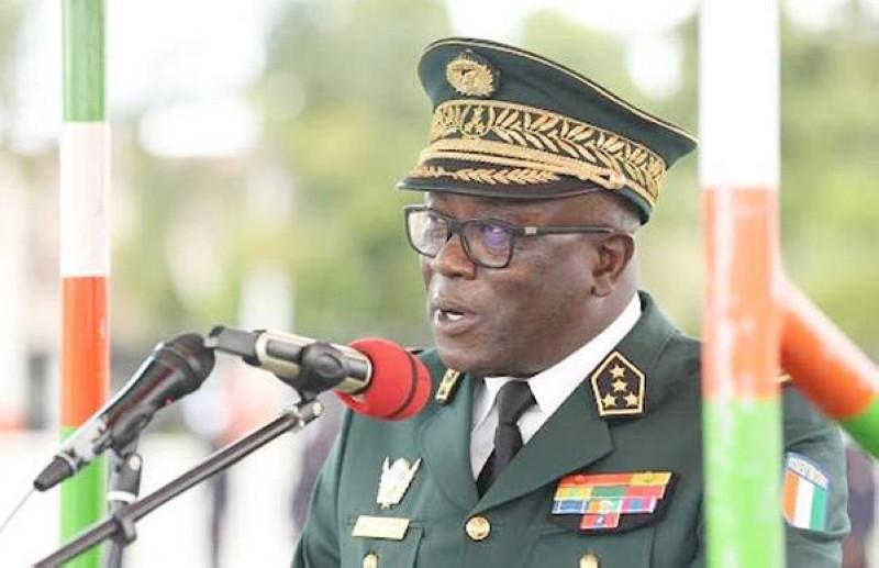 Le Général de Corps d'Armée Lassina Doumbia. (DR)