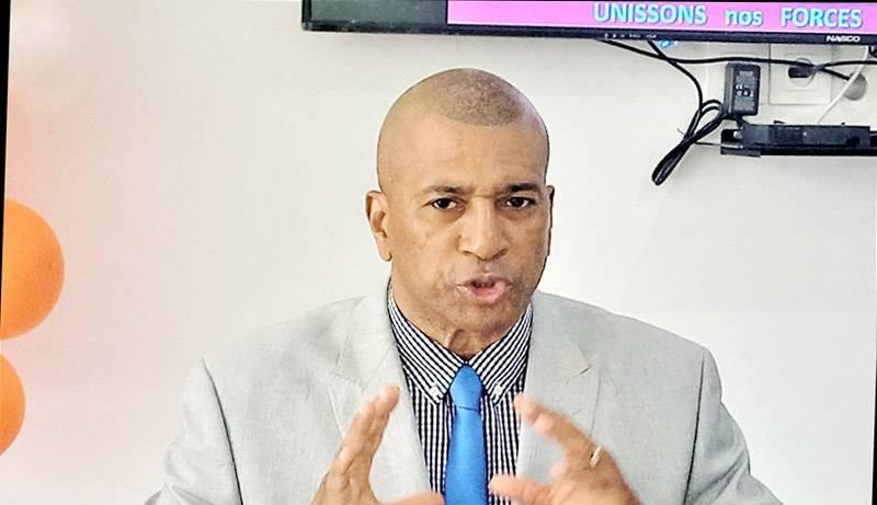 Patrice Remarck, Ceinture noire 6e Dan, candidat à la présidence de la Fitkd. (DR)