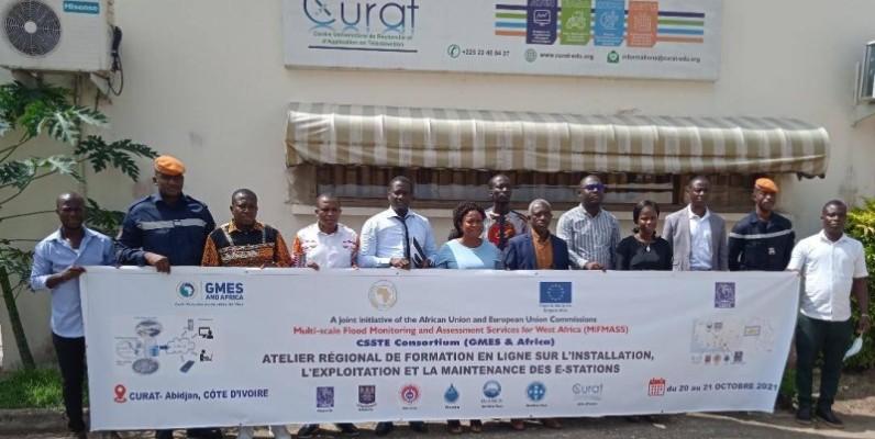 La Côte d'Ivoire lutte contre les inondations. (DR)
