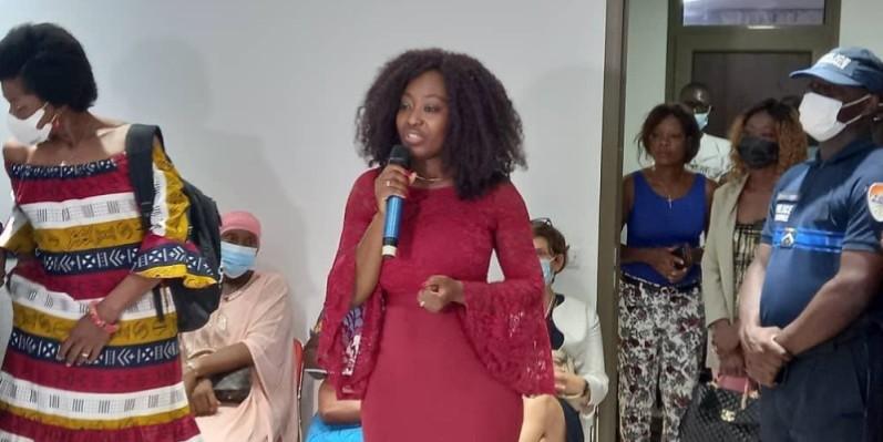 Marie Claire Kakpotia Moraldo, directrice, fondatrice de l'unité de lutte contre les mutilations génitales en Côte d'Ivoire. (DR)
