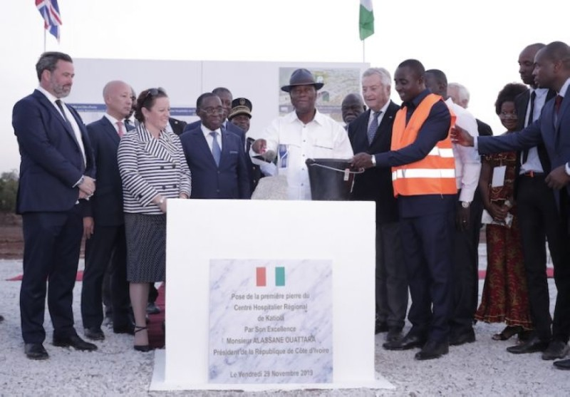 L'un des projets majeurs qui suscite la reconnaissance du Hambol au Chef de l'État est la construction du futur Centre hospitalier régional. (Photo : DR)